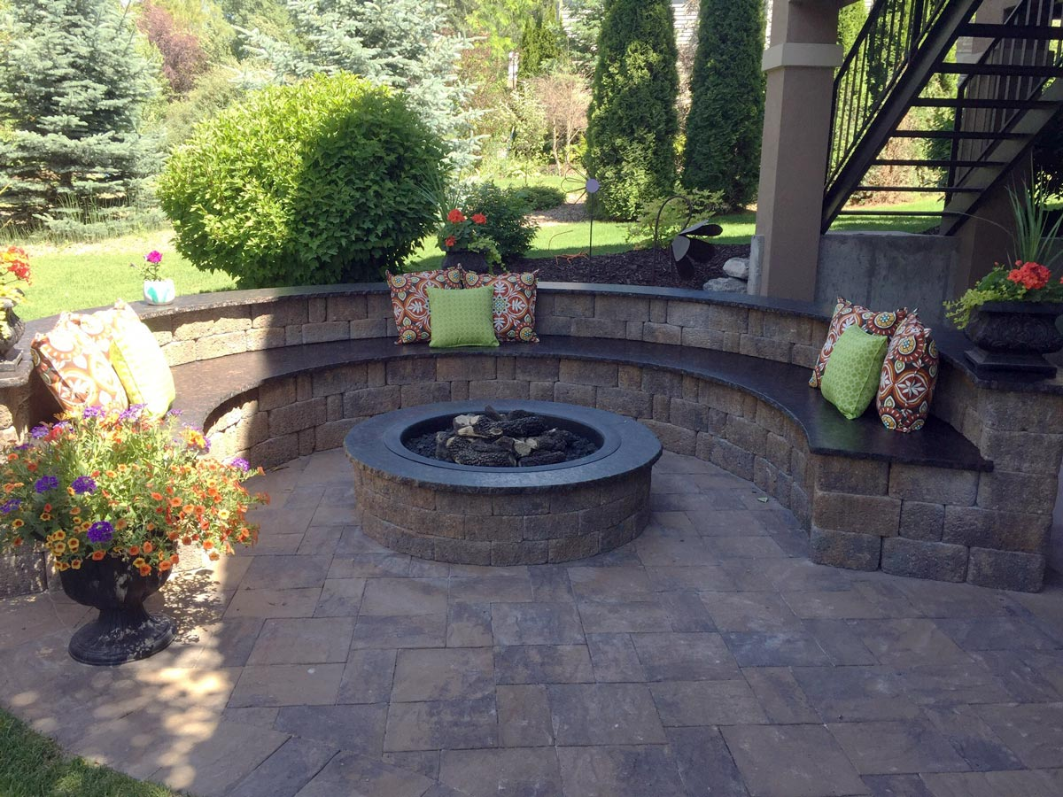 Pavers Fire Pits Creative Design Landscaping Southeast Id