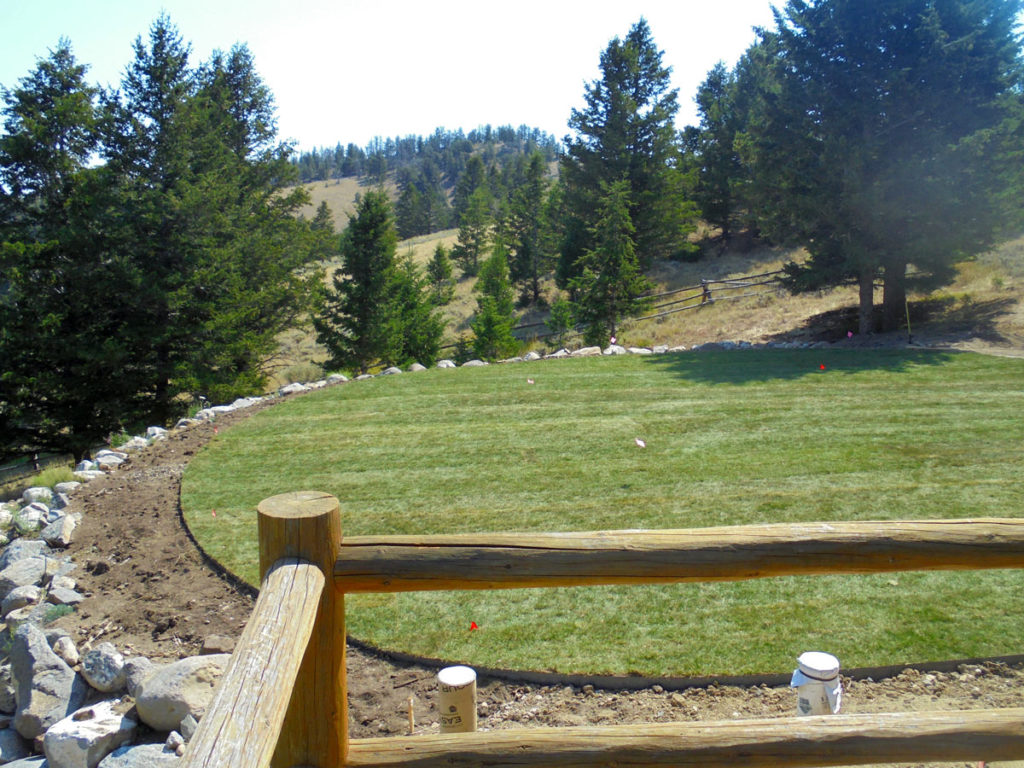 Dubois, Wyoming sod installation