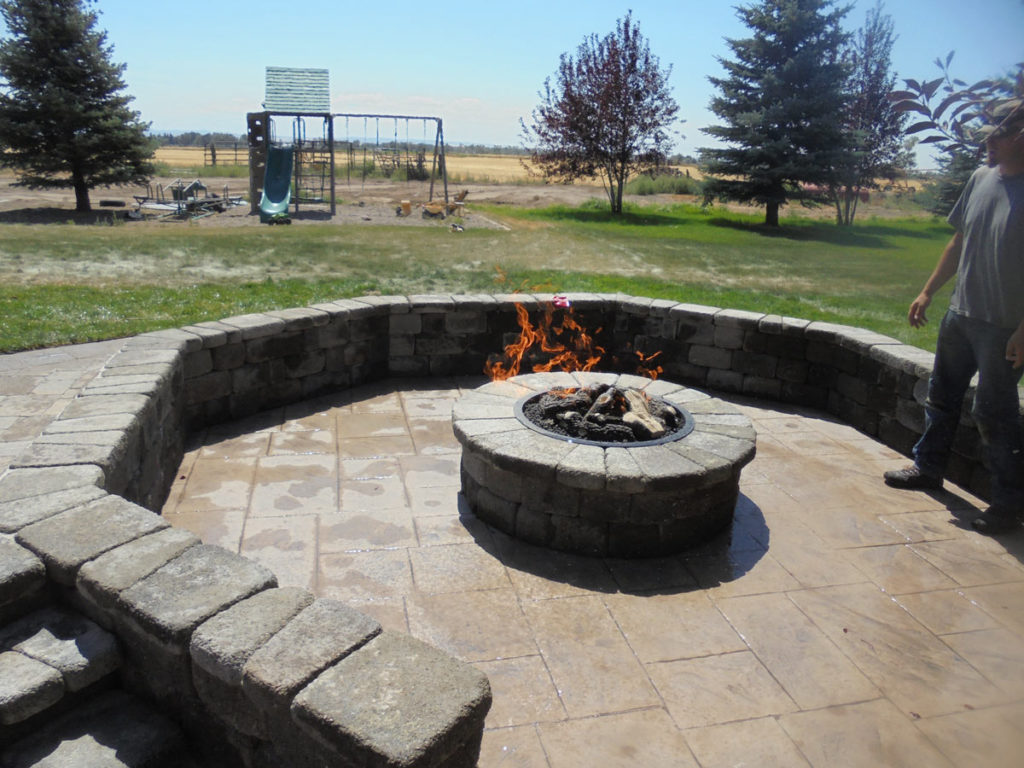 Pavers- Fire Pits- Creative Design Landscaping Southeast ID