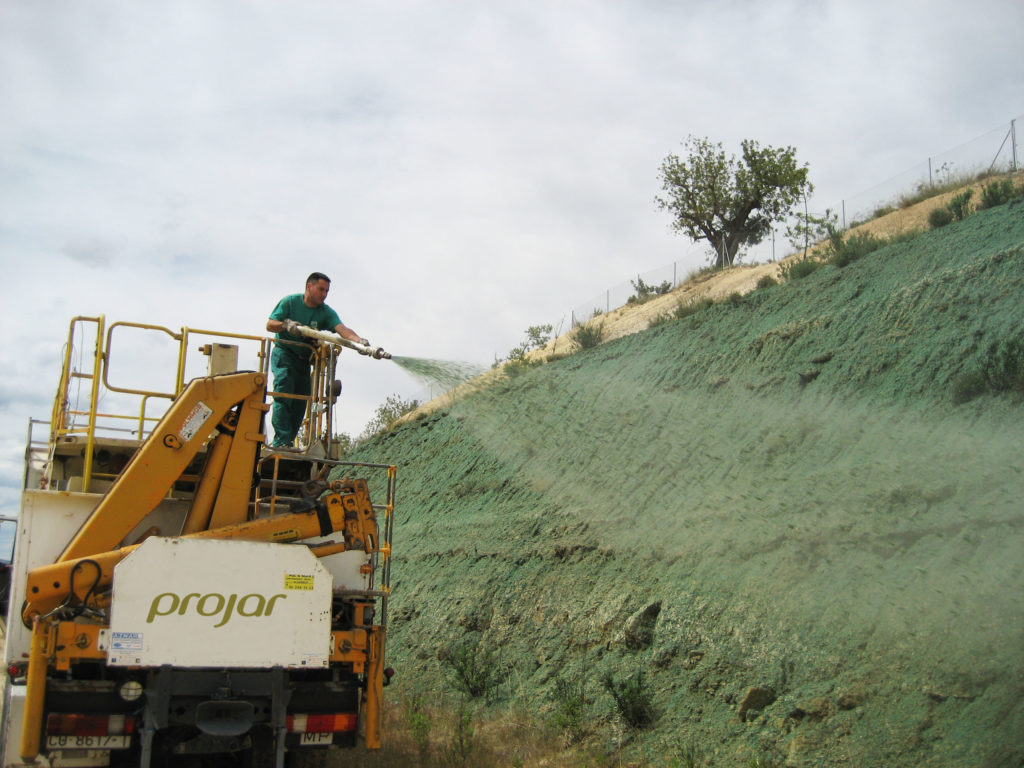 Hydroseeding is a very effective way to plant grass with great success.