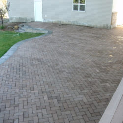Large Paver area