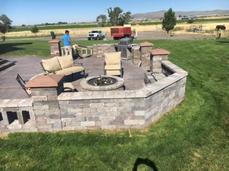 Outdoor kitchens Rexburg Idaho