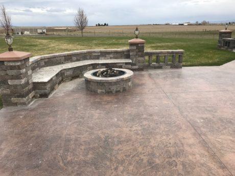 stone counter top Rexburg Idaho